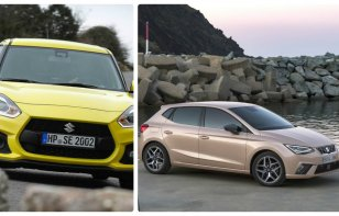 Comparativa : SEAT Ibiza 2018 vs. Suzuki Swift 2018
