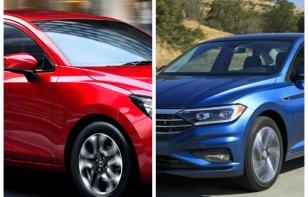 Comparativa: Volkswagen Vento 2018 vs. Mazda 2 Sedán 2018