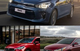 Comparativa: KIA Rio 2018, Mazda 2 2018 y Hyundai Accent 2018