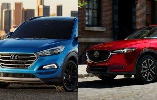 Comparativa: Mazda CX-5 2018 vs. Hyundai Tucson 2018