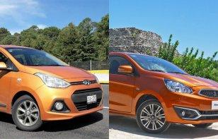 Comparativa: Mitsubishi Mirage 2018 vs. Hyundai Grand i10 2018