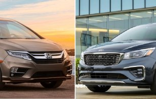 Comparativa: Honda Odyssey Touring 2019 vs Kia Sedona SXL TA 2019