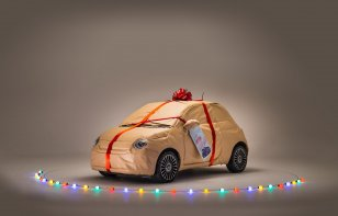 FIAT te ayuda a envolver tus regalos de Navidad
