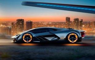 El nuevo Lamborghini podría ser híbrido y brillar en la oscuridad