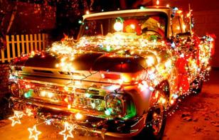 ¡Decora tu automóvil para esta Navidad!