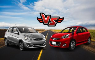 Comparativa: Nissan March 2018 vs. Mitsubishi Mirage 2018