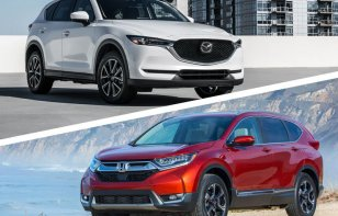 Comparativa: Mazda CX-5 2019 Signature 2WD vs. Honda CR-V 2019 Touring