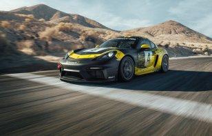"""Nuevo Porsche 718 Cayman GT4 Clubsport tiene más potencia y """"fibras naturales"""""""