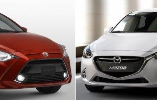 Comparativa: Toyota Yaris R 2019 XLE Vs. Mazda 2 Sedán 2019 i Grand Touring