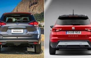 Comparativa: Nissan Kicks Exclusive CVT 2019 vs. SEAT Arona Xcellence 2019