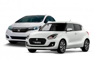 Comparativa: Honda Fit 2019 Hit CVT vs Suzuki Swift 2019  Boosterjet TA