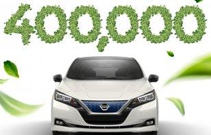 ¡Éxito rotundo! El Nissan LEAF superó las 400 mil unidades vendidas