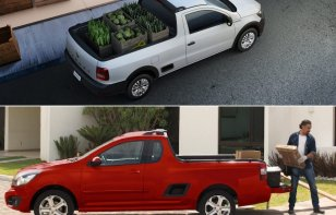 Comparativa: Volkswagen Saveiro Pepper 2019 vs. Chevrolet Tornado LT 2019