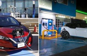Ya tenemos 500 estaciones de recarga para eléctricos, gracias a Nissan y BMW