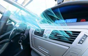 ¿Cómo funciona el aire acondicionado de un auto?