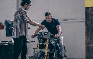 Damon desarrolla las motos eléctricas del futuro