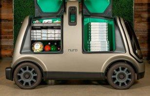 Domino's Pizza ya está entregando sus pizzas en un vehículo autónomo