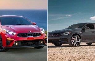 Comparativa: Kia Forte GT Sedan 2019 vs Volkswagen Jetta GLI 2019