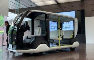 Toyota diseña minibuses para los juegos de Tokio 2020