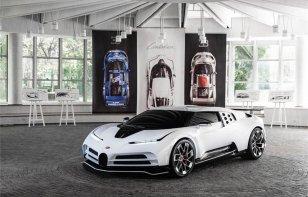 El Bugatti Centodieci se deja ver antes de su presentación