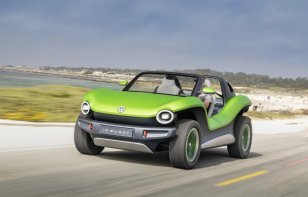 El Volkswagen ID.Buggy se muestra en Pebble Beach