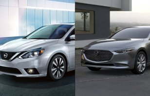 Comparativa: Nissan Sentra Exclusive CVT 2019 vs. Mazda 3 Sedán i Grand Touring TA 2019
