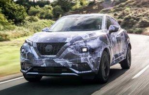 Nissan presume la Juke camuflada con fotos oficiales