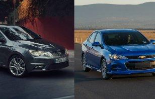 Comparativa: SEAT Toledo Xcellence 2019 vs. Chevrolet Cavalier Premier 2019