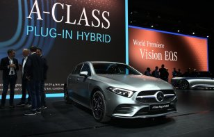 [Auto Show de Frankfurt] Mercedes-Benz A 250e, el nuevo híbrido enchufable
