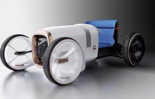 Vision Mercedes Simplex: diseño de época con elementos de futuro