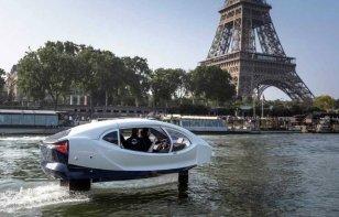 Los taxis voladores demuestran su potencial en París