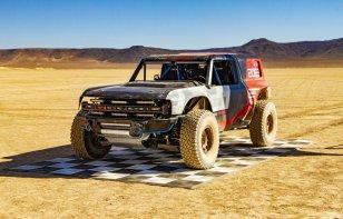 Video: La Ford Bronco R Race Prototype debutará en la Baja 1000