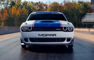 Mopar presenta el Dodge Challenger Drag Pak 2020 en el SEMA