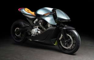 AMB 001, así luce la primera moto de Aston Martin