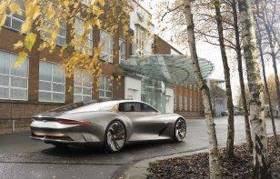 Con árboles y joyas, Bentley celebra 100 años de historia