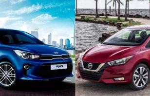 Comparativa: Kia Rio Sedán EX AT 2020 vs. Nissan Versa Platinum 2020