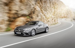 Mercedes-Benz SLC 2020 Reseña - Dos asientos son más que suficiente