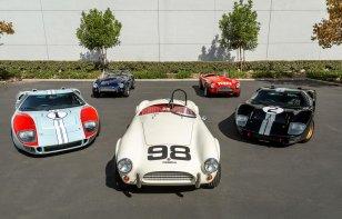 Shelby lanza línea basada en los autos de Ford v Ferrari