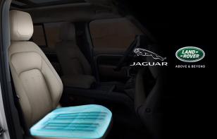 Jaguar Land Rover presenta asientos ergonómicos de alta tecnología