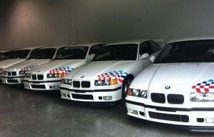 Subastados los cinco BMW M3 de Paul Walker