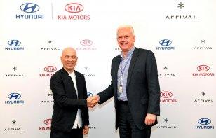 Hyundai y Kia se asocian con Arrival para desarrollar vehículos comerciales eléctricos