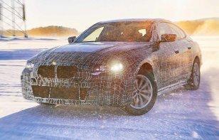 El BMW i4 Concept podría ser revelado en el Auto Show de Ginebra 2020
