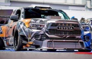 Reinventan una Toyota Tacoma con 900 caballos para drifting