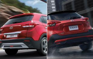 Comparativa: Hyundai Creta Limited 2020 vs Nissan Kicks CVT Exclusive Bi-tono 2020