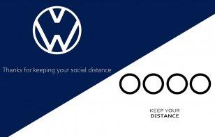 Video: Marcas cambian su logo para promover el distanciamiento social ante coronavirus