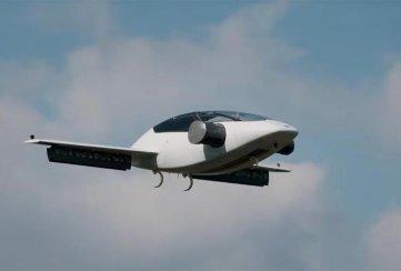 El taxi volador Lilium Jet realiza con éxito su primer vuelo