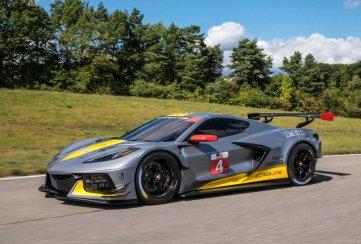 El Chevrolet Corvette C8 de carreras debutará en las 24 Horas de Daytona