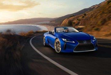 [Auto Show de Los Ángeles] El Lexus LC 500 Convertible presume lujo y deportividad