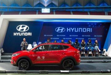 Hyundai Tucson Híbrida 48V, el auto oficial del Atlético de Madrid