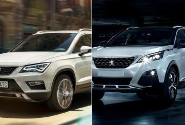 Comparativa: SEAT Ateca Xcellence 2020 vs Peugeot 3008 Allure Pack 2020